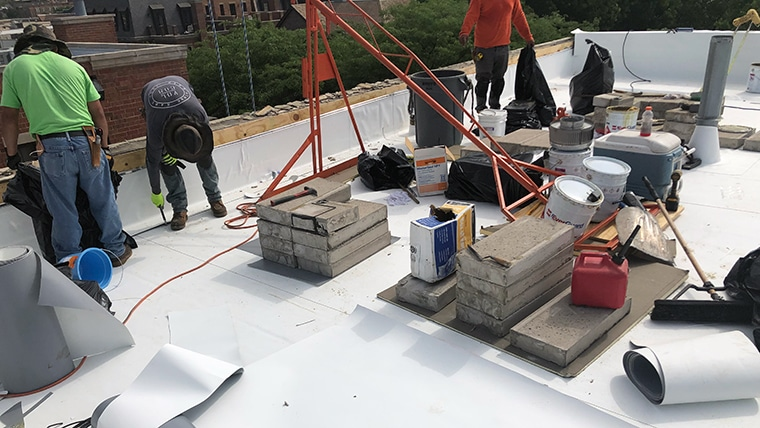 TPO & PVC Roofing - Flat Roof Inc Chicago